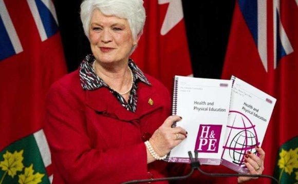 Ontario Education Minister Liz