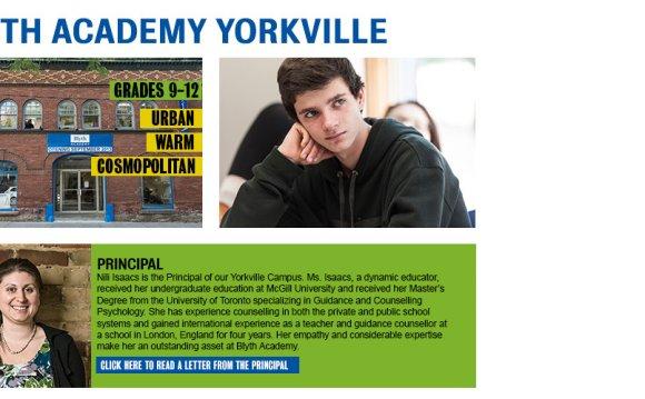 Blyth Academy Yorkville