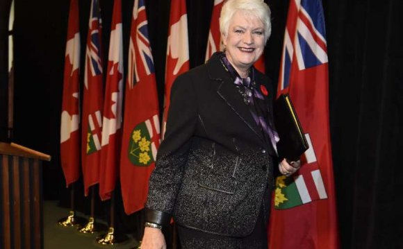 Education Minister Ontario