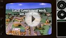 1985 - Local Government Week Ontario PSA