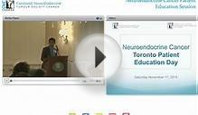 2014 Toronto Patient Education Session