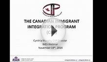 Canadian Immigrant Integration Program pre-arrival services