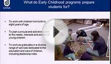 Early Childhood Education - Open Day 2011 - University of