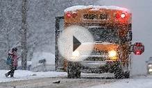 GTA school bus, class cancellations on Feb. 2, 2015