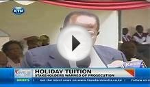 Ministry of Education emphasises ban on holiday tuition