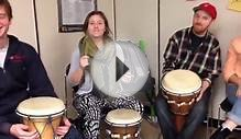 Music Education: Djembe Drum Circle at OISE/UT