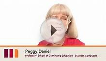 Peggy Daniel - School of Continuing Education - Business