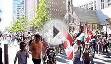 Toronto Downtown Protest for Gaza - July 30, 2014