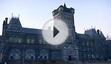 University of Toronto : Light It Up Blue! - University College