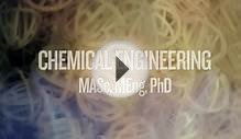 Welcome to the Chemical Engineering Graduate Program